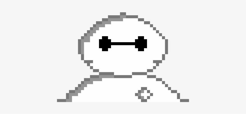 Baymax Pixel Art.