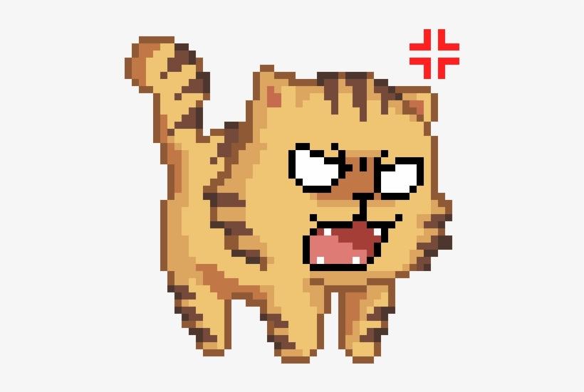 Gato Pixel Art Gif Transparent PNG.