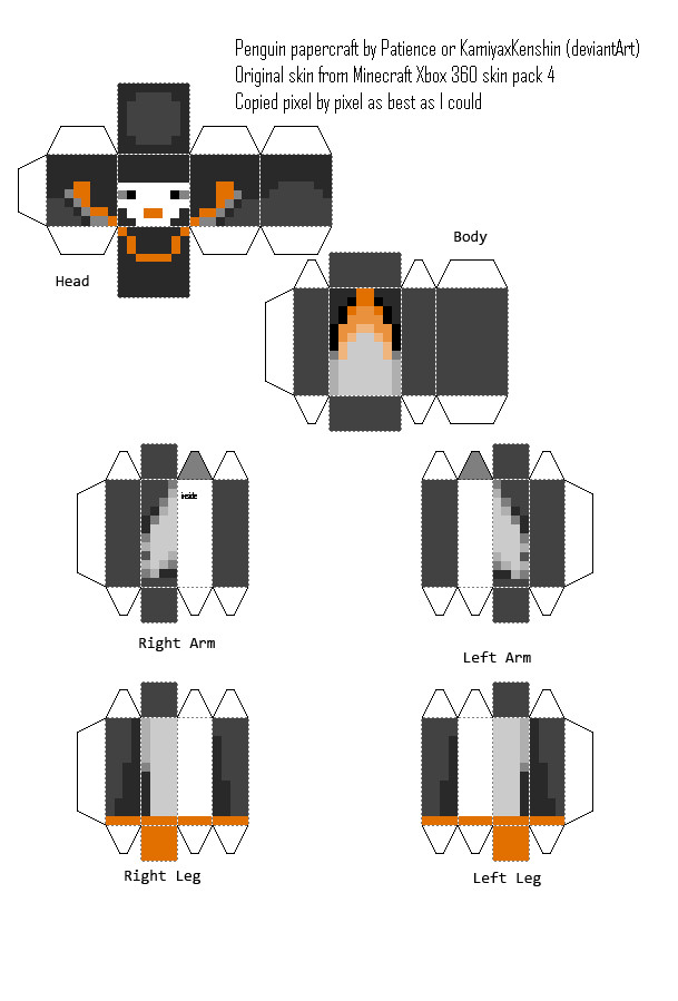 Minecraft Clipart Maker With Custom Skin.
