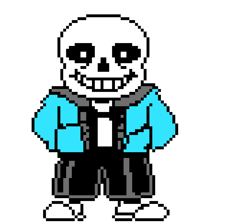 Sans the skeleton.