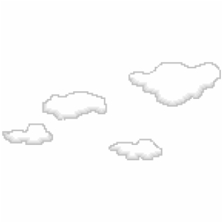 Pixel Clouds Png {#2383982}.