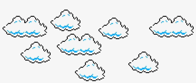 Super Mario Bros Cloud Sprites.