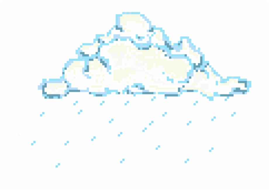 Pixel Clouds Png.