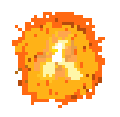 Pixel Explosion Png Vector, Clipart, PSD.