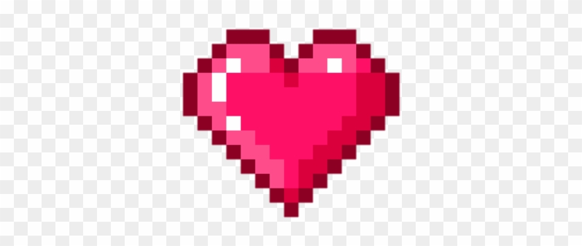 Heart, Pixel, And Png Image.
