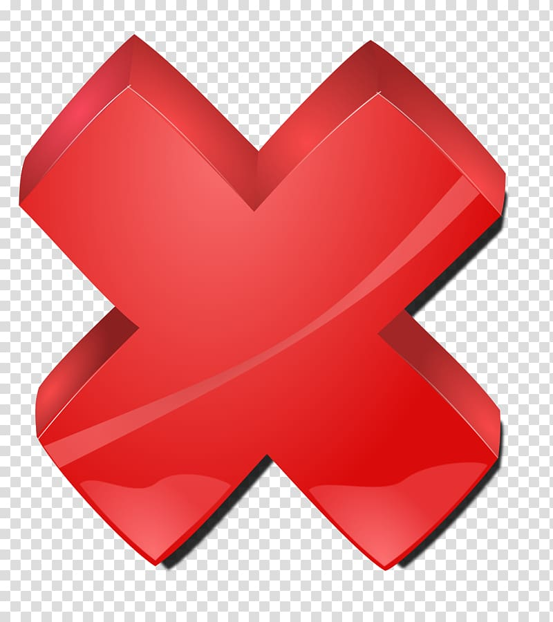 Pixel Icon, Red Cross perspective transparent background PNG.