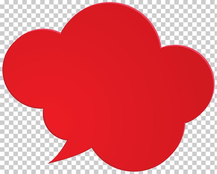 Speech balloon Pixel Icon, Bubble Speech Red PNG clipart.