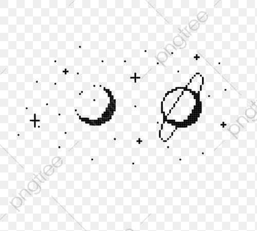 Pixel Art Universe Planets, Art Clipart, Jane Pen, Pixel PNG.