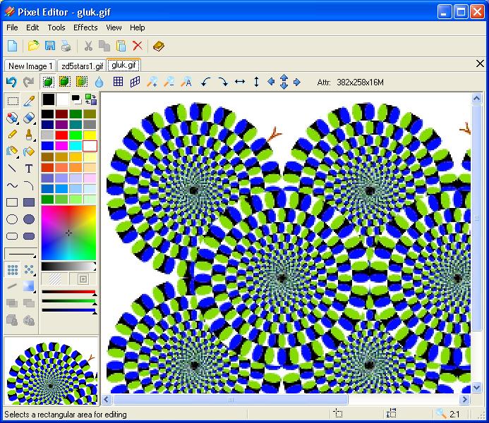 Pixel Editor. Small Image Editor..