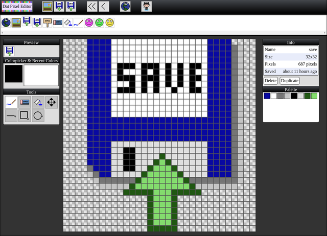 Dat Pixel Editor.