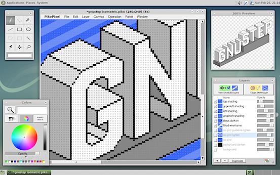 PikoPixel pixel.