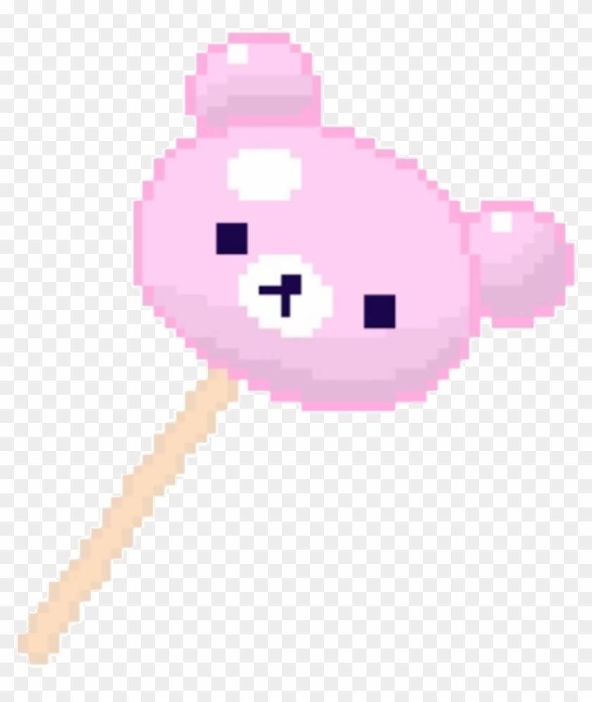 Pixel Cute Pink Pastel Kawaii Transparent Pixels Transparent.