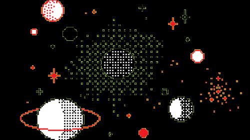 png pixel space cute kawaii.