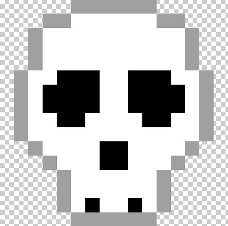 Pixel Art Skull Bone PNG, Clipart, Accurate, Angle.