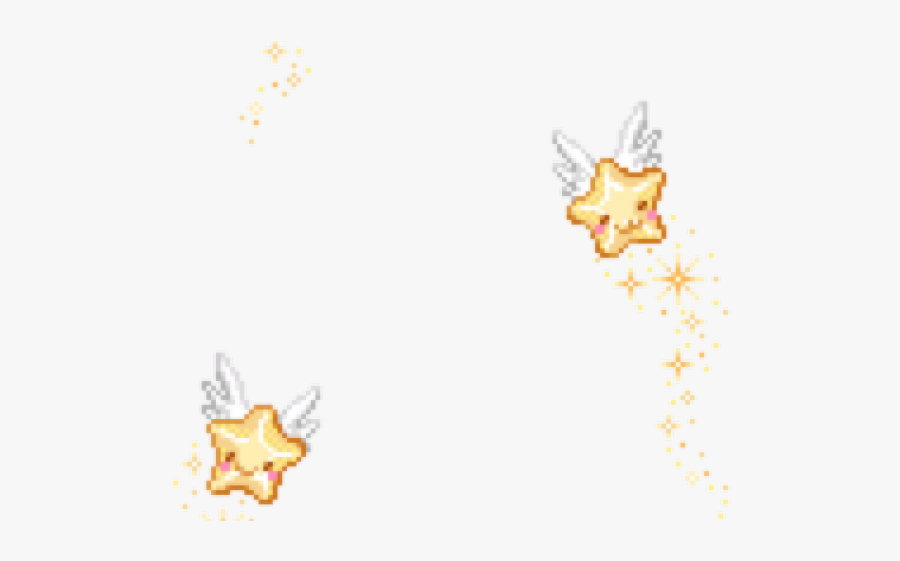 Pixel Stars Png , Free Transparent Clipart.