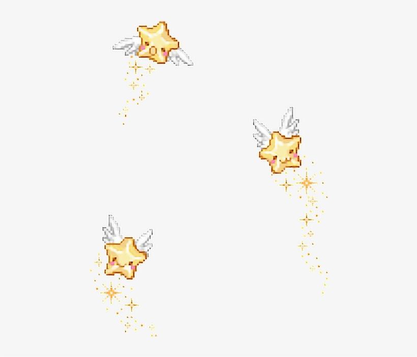 Pixel Stars Png.