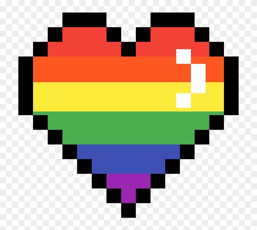 Pixel Heart , Png Download.