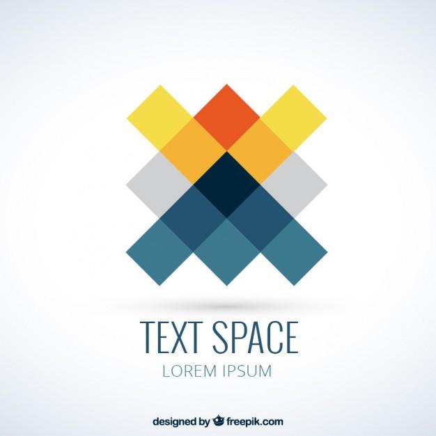 Logo in pixels style Vector.