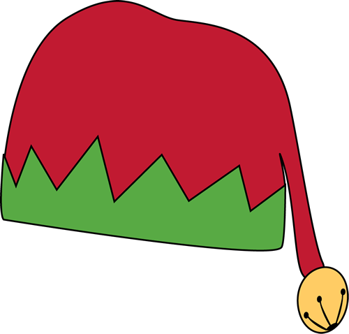 Elf Hat With Ears Clipart.
