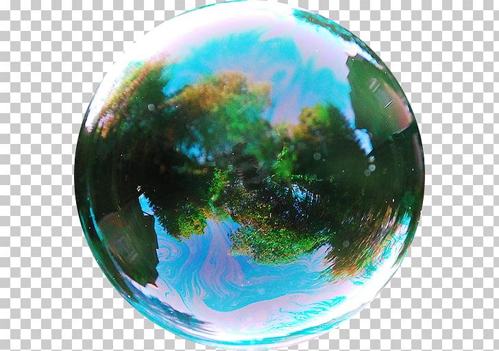 Soap bubble Game Reflection Sphere, pixlr PNG clipart.