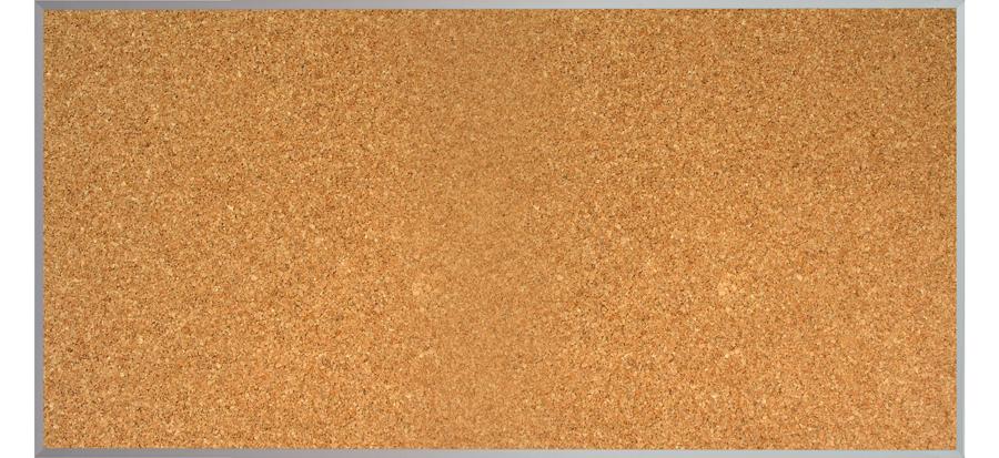 Pizarrón de Corcho 120x240 cm..