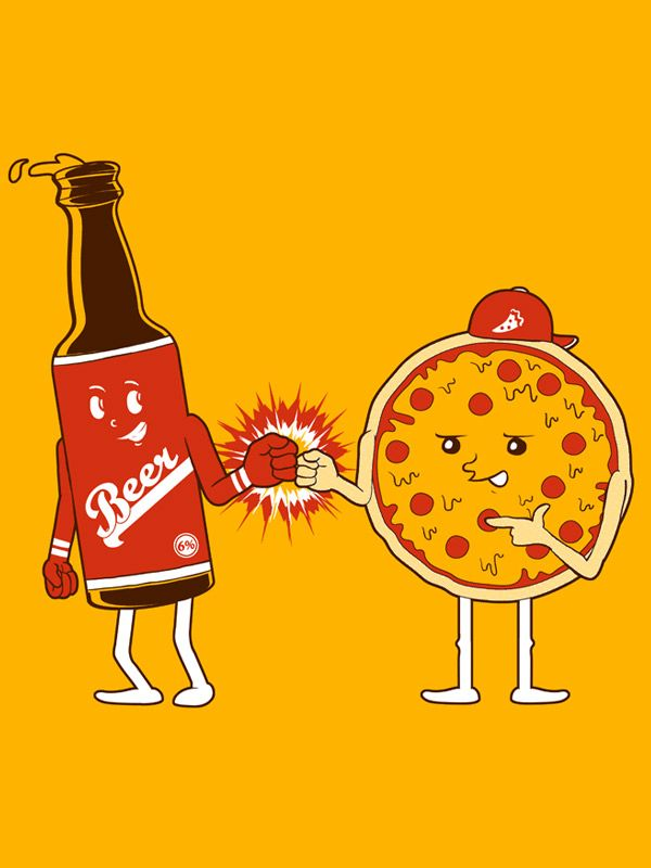 Pizza and Beer, by Seven Lefcourt.