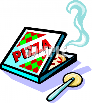 Pizza Box Clip Art.