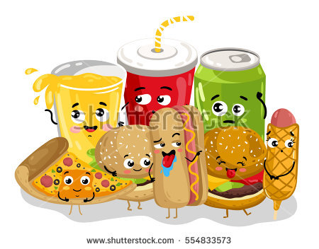 Pizza Soft Drink Stock Images, Royalty.