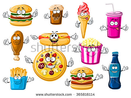 Cartoon Soft Drinks Stock Images, Royalty.