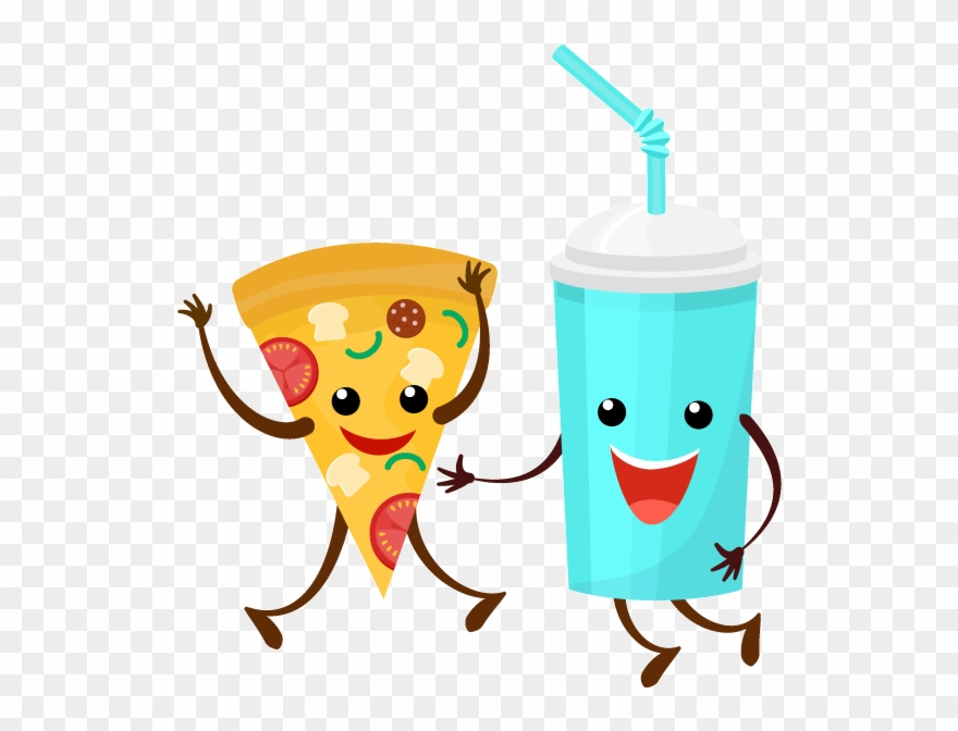 Pizza And Soda Clipart (#2661363).