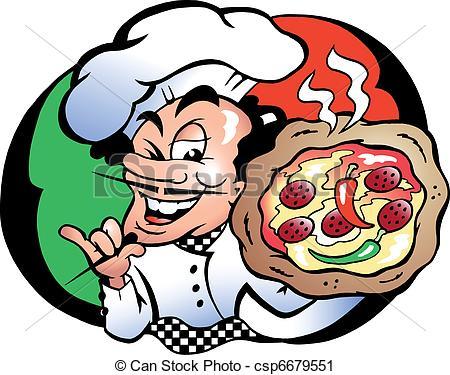 Pizza baker Vector Clip Art Royalty Free. 2,342 Pizza baker.