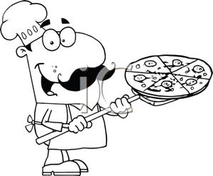 Pizza Clip Art Baker.