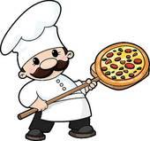 Pizza Baker Clip Art.