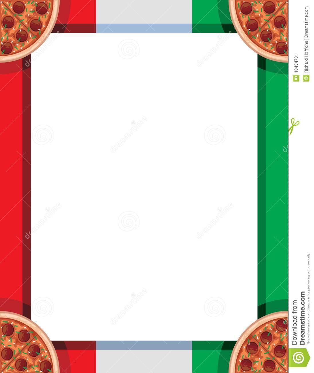 Pizza border clipart 4 » Clipart Station.