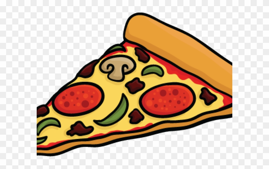 Cheese Pizza Cartoon Png Clip Transparent Library.