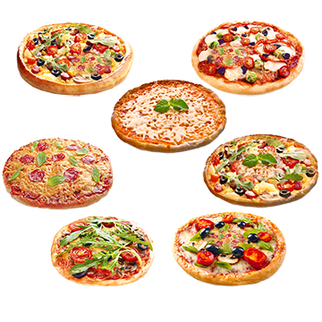 Cheese Pizza PNG Images.