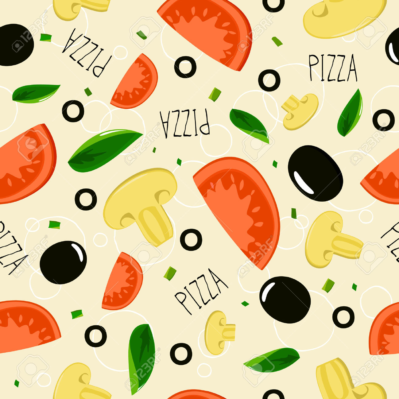16,351 Pizza Background Stock Illustrations, Cliparts And Royalty.