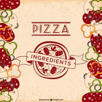 Pizza Background Vectors, Photos and PSD files.
