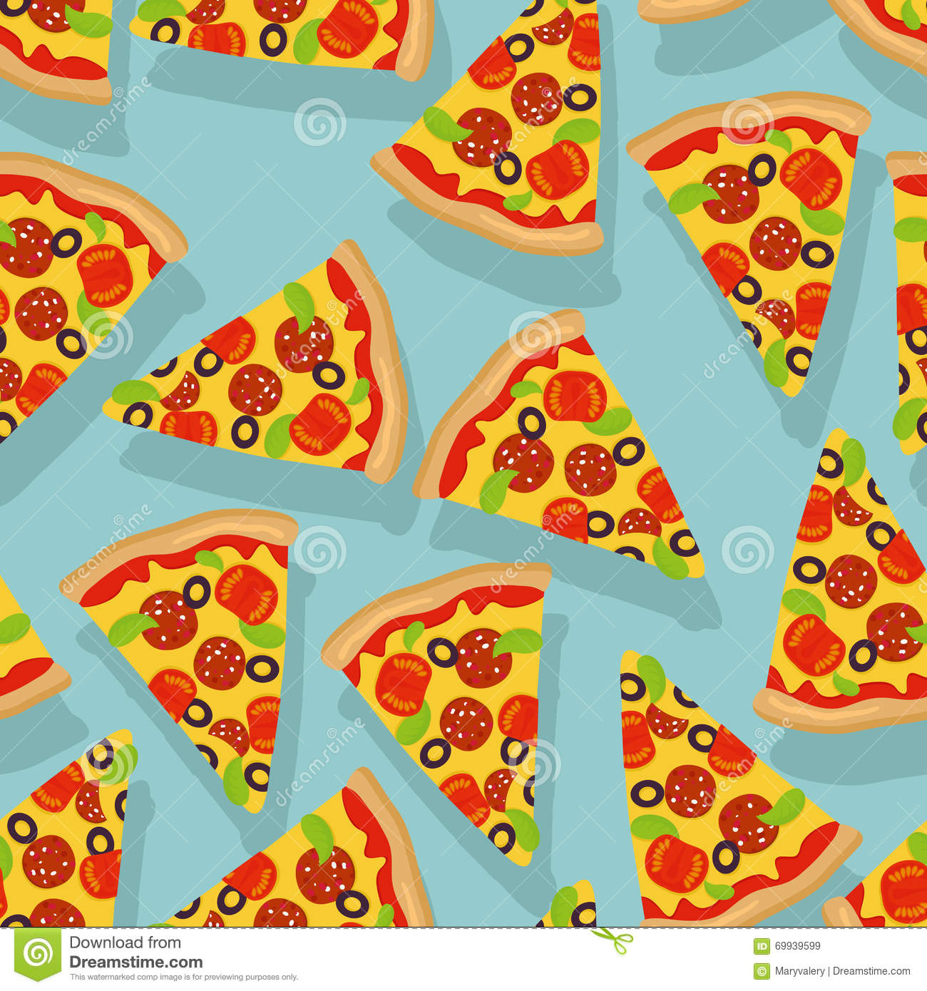 pizza clipart background #14