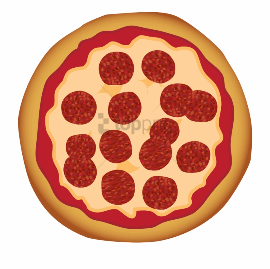 Whole Pizza Clipart Free PNG Images & Clipart Download.