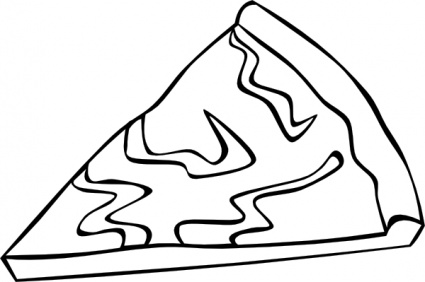 Cheese Pizza Clipart.