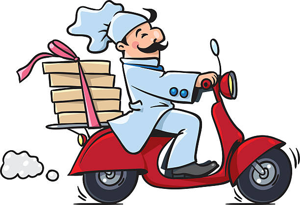 Pizza delivery clipart 1 » Clipart Station.