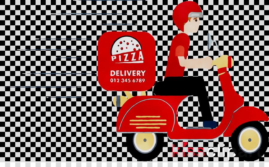 Pizza Cartoon clipart.