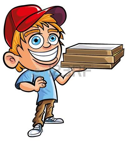 1,001 Pizza Delivery Guy Stock Illustrations, Cliparts And Royalty.