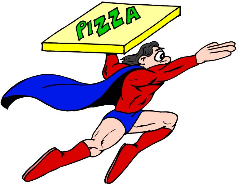 Pizza Delivery Man Clipart (72+).