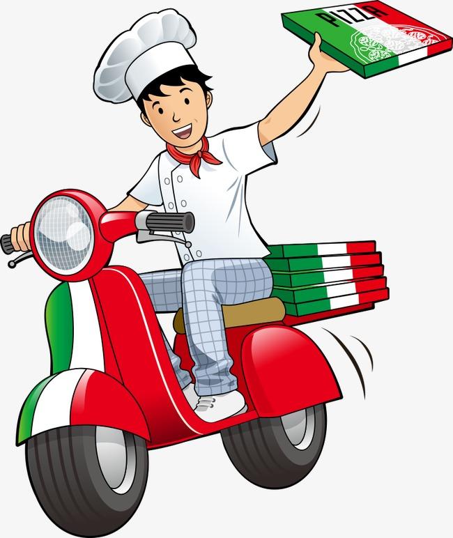 Vector Pizza Deliveryman Pizza Deliveryman Delivery Man Png.