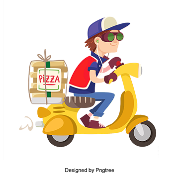 Delivery Man PNG Images.