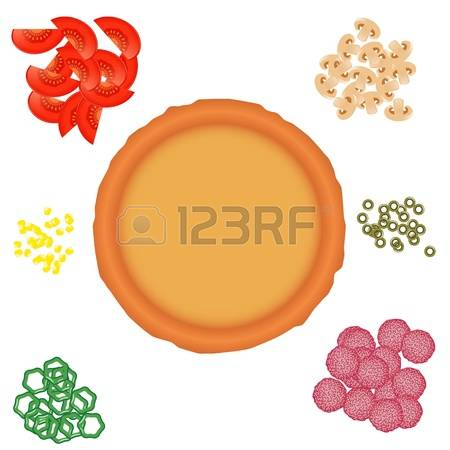 1,930 Pizza Crust Stock Vector Illustration And Royalty Free Pizza.