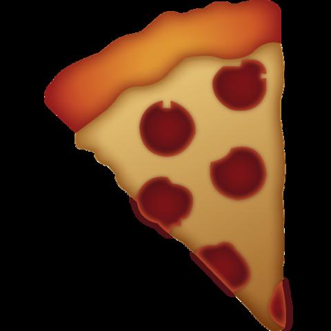 Slice of Pizza Emoji.