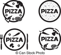 Pizza logo Vector Clip Art Royalty Free. 2,175 Pizza logo clipart.